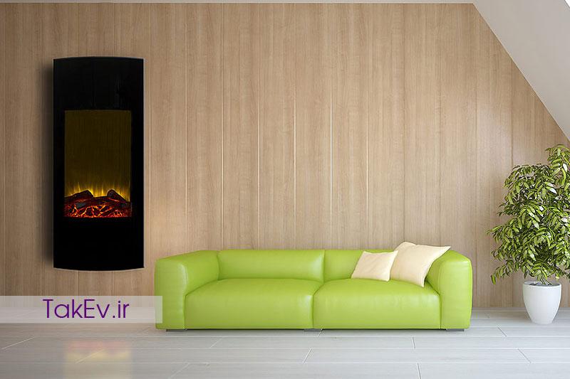 شومینه LCD عمودی